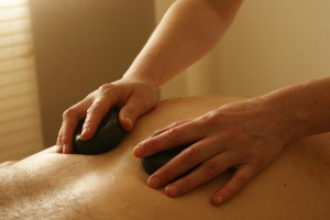 stress, stress relief, massage for stress, hot stone massage