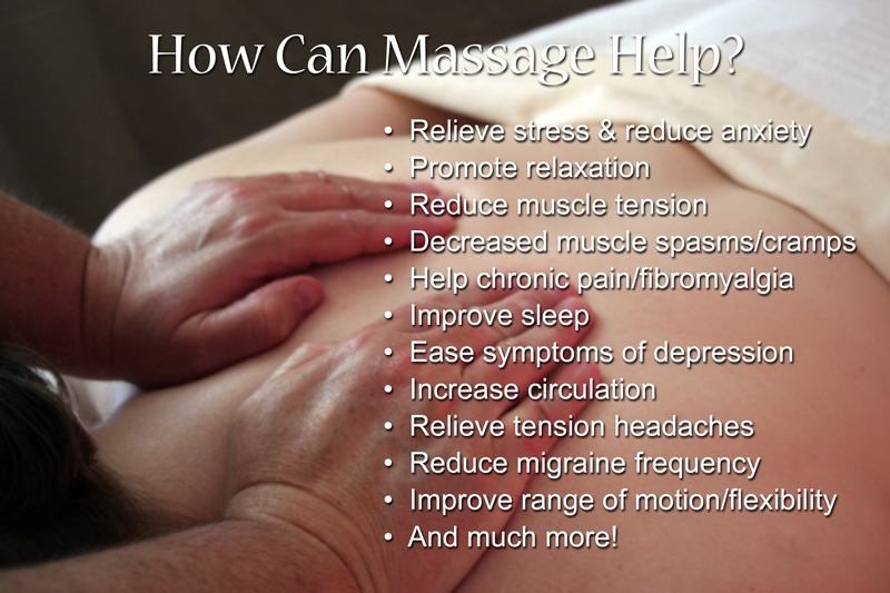 how can massage help