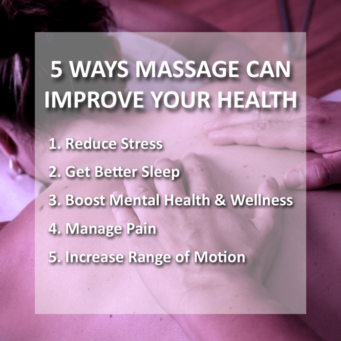5 ways massage
