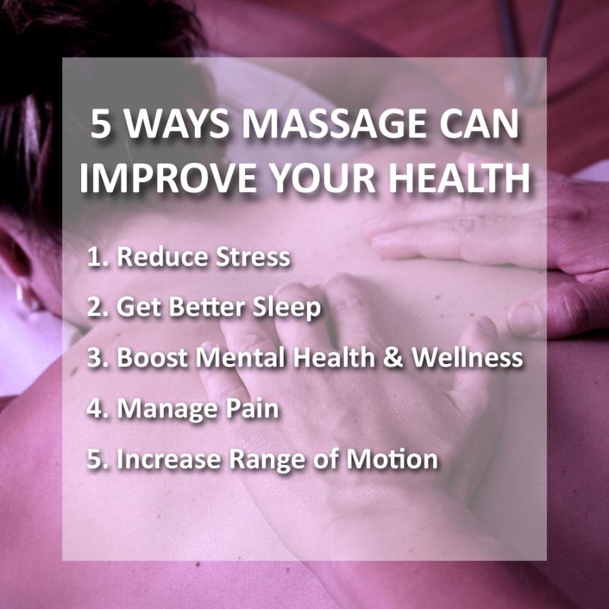 5 ways massage